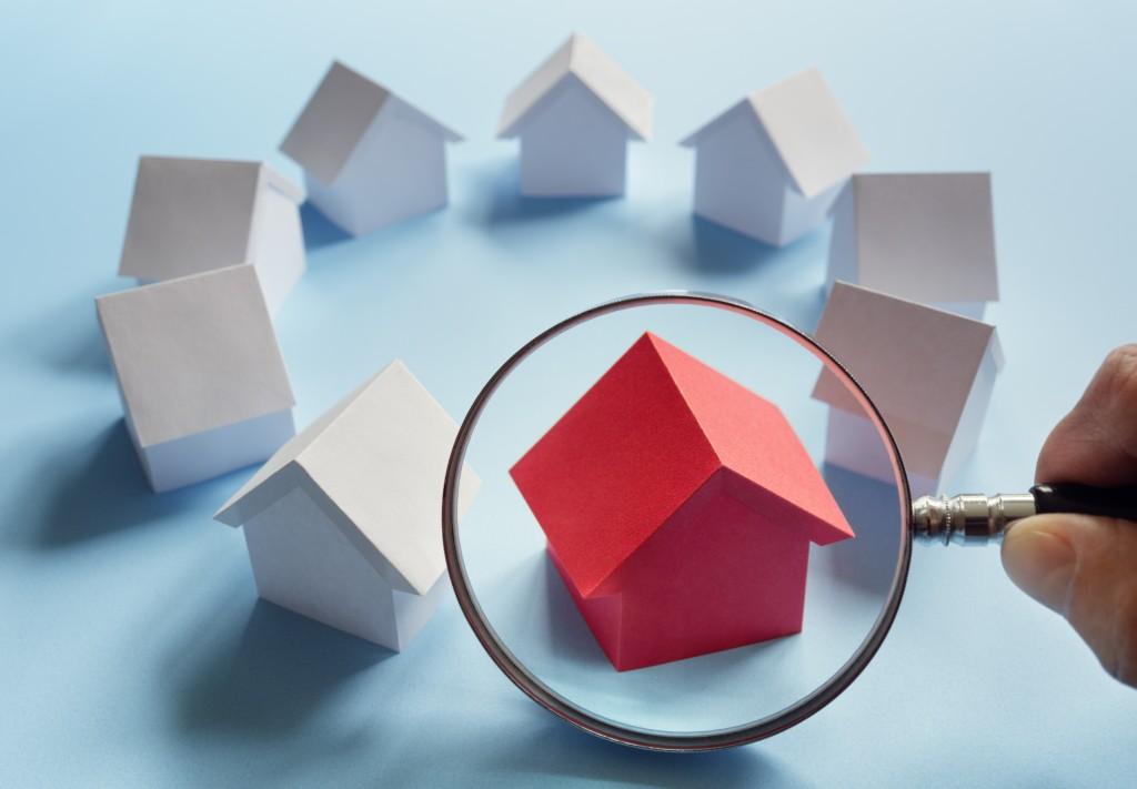 home selection concept