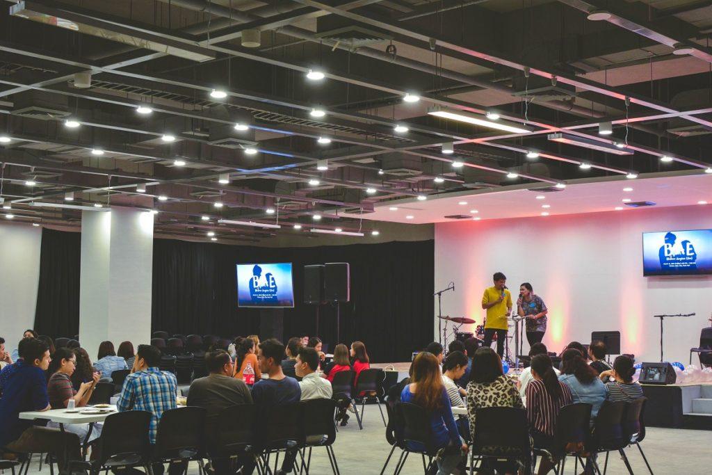 event's venue