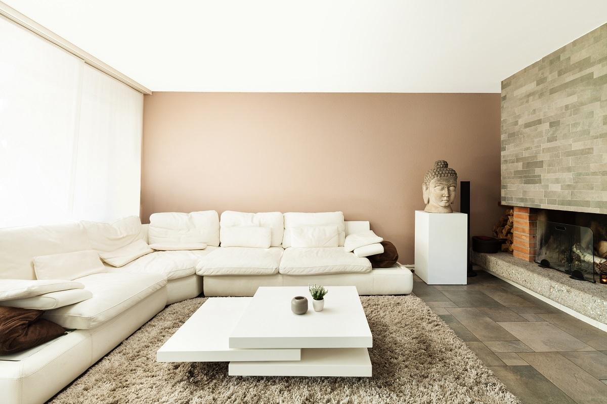 big L sofa